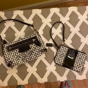 COACH wristlet purse lot!  Get both!  So cute